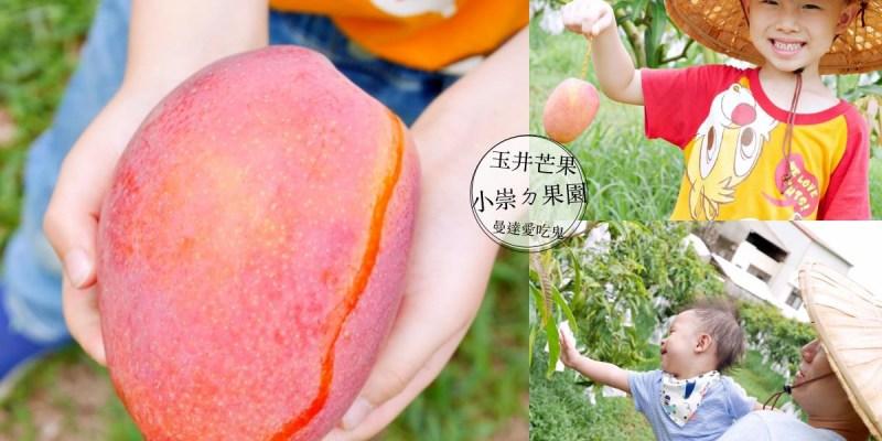 【親子活動】玉井開心採果趣。小崇ㄉ果園。玉井芒果 觀光果園 親子景點 台南景點