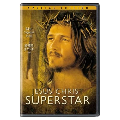 Jesus Christ Superstar on DVD