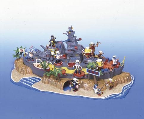 【画像】あみあみ新作フィギュア予約開始速報:復刻版 ロボダッチ No.01 戦艦島 プラモデル