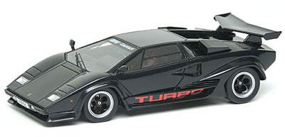 アイドロン ハンドメイドモデルカー 1/43 メタリックブラック ケーニッヒ ランボルギーニ カウンタック LP500S|あみあみ予約開始フィギュア新作