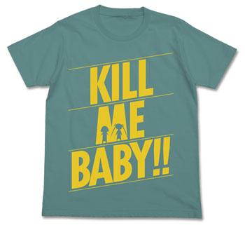 【画像】あみあみ新作フィギュア予約開始速報:キルミーベイベー KILL ME Tシャツ/セージブルー-L