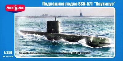 【画像】あみあみ新作フィギュア予約開始速報:AVIS 1/350 米・SSN-571ノーチラス攻撃原潜 プラモデル