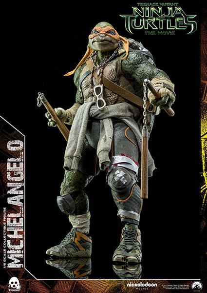【画像】あみあみ新作フィギュア予約開始速報:Teenage Mutant Ninja Turtles(ミュータント・タートルズ) Michelangelo(ミケランジェロ) 可動フィギュア