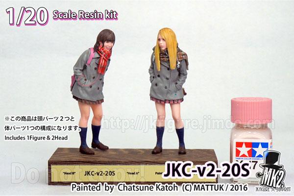 JK FIGURE Series 001 JKC-v2-20S 1/20 レジンキット アニメ・キャラクターグッズ新作情報・予約開始速報