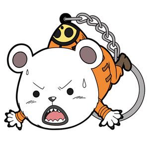 ワンピース ベポ つままれキーホルダー 2年前Ver. アニメ・キャラクターグッズ新作情報・予約開始速報
