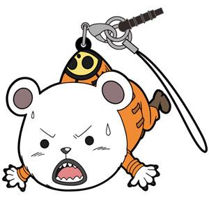 ワンピース ベポ つままれストラップ 2年前Ver. アニメ・キャラクターグッズ新作情報・予約開始速報