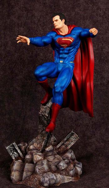 バットマンvsスーパーマン・ジャスティスの誕生 1/8 スーパーマン レジン製塗装済み半完成モデル アニメ・キャラクターグッズ新作情報・予約開始速報