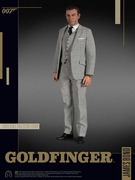 007 ゴールドフィンガー 1/6スケールフィギュア ジェームズ・ボンド アニメ・キャラクターグッズ新作情報・予約開始速報