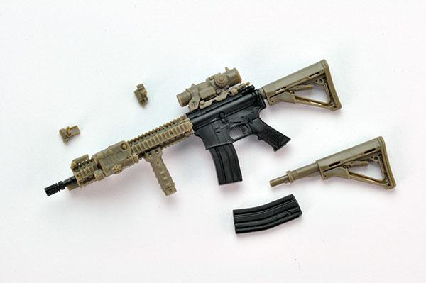 リトルアーモリー〈LA037〉M4A1SOPMOD BLOCK2タイプ アニメ・キャラクターグッズ新作情報・予約開始速報
