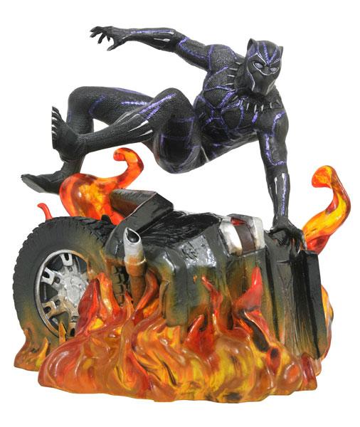 『ブラックパンサー』PVCスタチュー マーベル・ギャラリー ブラックパンサー(バージョン2) アニメ・キャラクターグッズ新作情報・予約開始速報