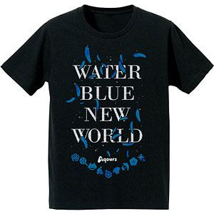 ラブライブ!サンシャイン!! 箔プリントTシャツ (WATER BLUE NEW WORLD)/メンズ(サイズ/M) アニメ・キャラクターグッズ新作情報・予約開始速報