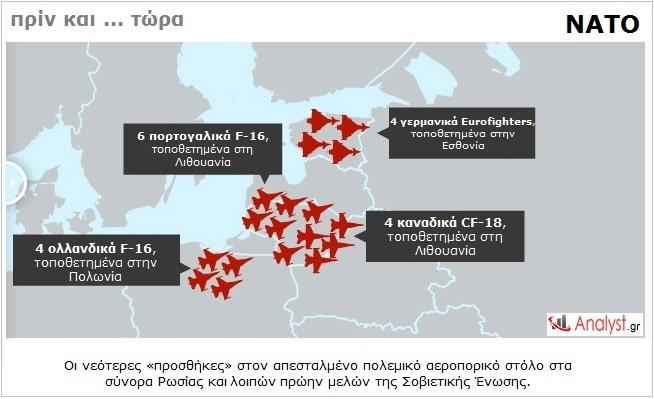 ΝΑΤΟ – οι νεότερες «προσθήκες» στον απεσταλμένο πολεμικό αεροπορικό στόλο 2
