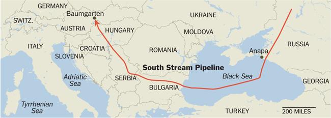 Χάρτης-–-ο-αγωγός-φυσικού-αερίου-South-Stream