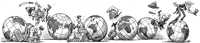 ICON - η πτώσεις του κόσμους, οικονομία, χώρες ηγέτιδες 2