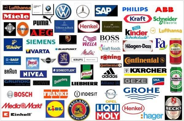 EXTRAS - Γερμανικά προϊόντα και εταιρίες, brands