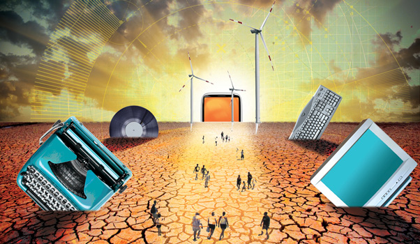 ΕΙΚΟΝΑ---τεχνολογία Δημοκρατία κατ' επίφαση:  τεχνολογική αντεπανάσταση έναντι επανάστασης