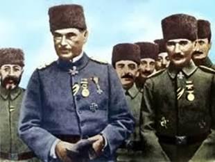 Τουρκία εναντίον Ρωσίας και στο βάθος…. Γερμανία! EXTRAS - Ο Γερμανός στρατηγός Όθων Λίμαν Φον Σάντερς με τον Μουσταφά Κεμάλ