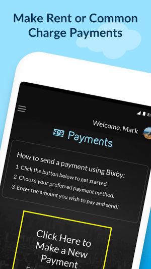 Android Bixby Hospitality Screen 3