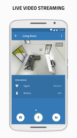 Turn my old phone into a Free Home Security Camera 1.5.4 Screen 2