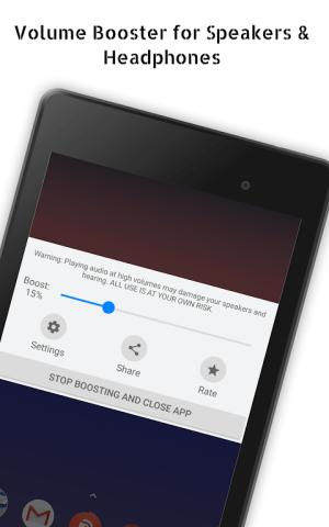 Speaker Boost: Volume Booster & Sound Amplifier 3D 3.0.15 Screen 2