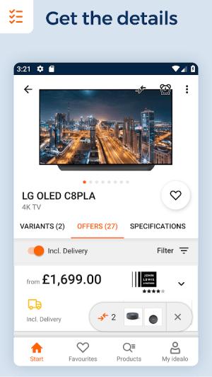 idealo - Price Comparison & Mobile Shopping App 11.2.3 Screen 3