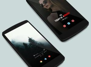 Andromeda for KWGT 1.05 Screen 5