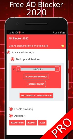 Android Free AD Blocker 2020 - Block ADs Screen 1