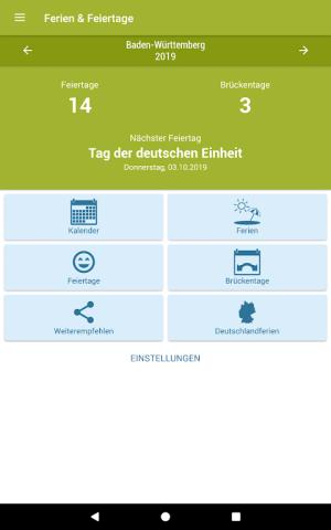 Deutsche Feiertage & Ferien 37.0 Screen 4