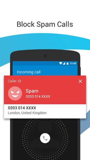 Android Caller ID - Phone Dialer & Call Blocker Screen 1