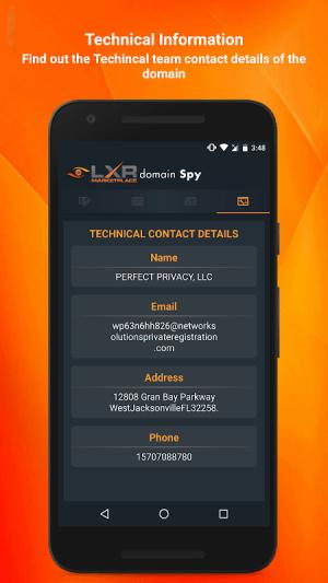 Domain SPY 2.1 Screen 4