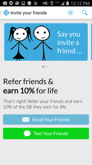 Swagbucks 3.6 Screen 2
