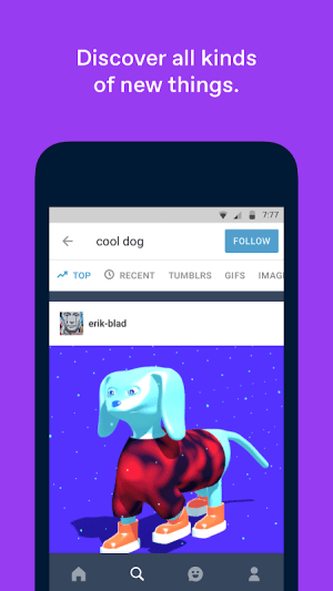 Tumblr 15.1.2.02 Screen 3
