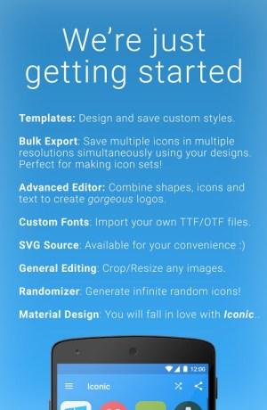 Iconic: Custom Icon Pack Maker, Logo Design Tool 2.1.1 Screen 2