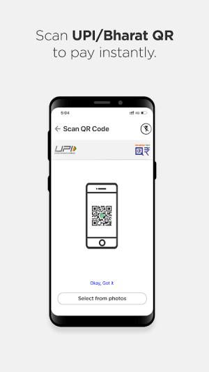 Android BHIM - MAKING INDIA CASHLESS Screen 5