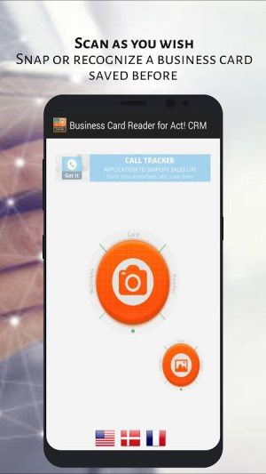 Act! CRM Business Card Reader 1.1.145c Screen 3