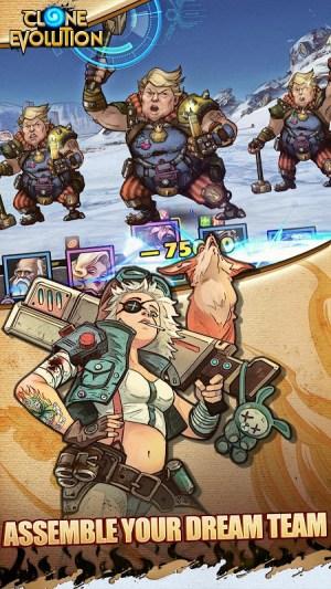 Clone Evolution: RPG Battle-Future Fight Fantasy 1.4.0 Screen 6