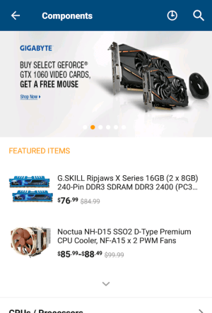 Newegg 4.4.4 Screen 4