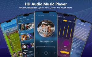Android Music Player - MP3 Player Screen 6