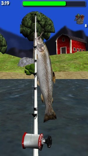 Big River Fishing 3D 1.01 Screen 6