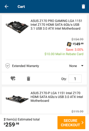Newegg 4.4.4 Screen 6