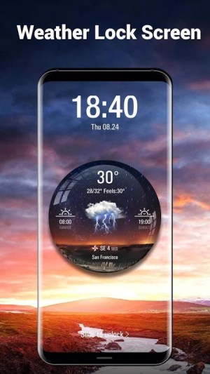 Android Local Weather Report Widget Screen 5