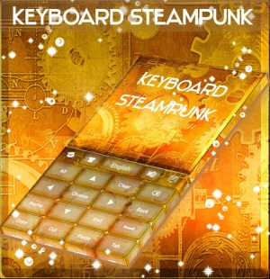 Android Steampunk Keyboard GO Screen 4