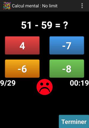 Mental Arithmetic 9.1 Screen 4