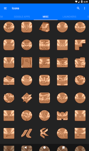 Android Sepia Icon Pack ✨Free✨ Screen 15