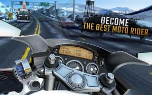 Android Moto Rider GO: Highway Traffic Screen 2