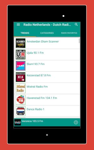 Android Radio Netherlands - Radio Netherlands FM: Radio NL Screen 6