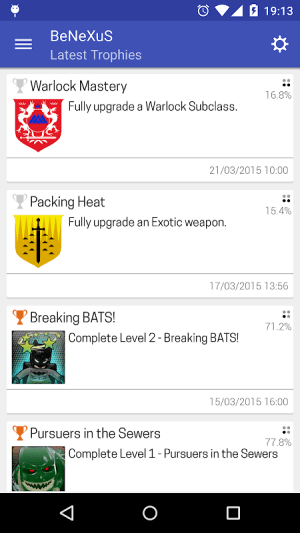 PS Trophies 7.3.2 Screen 5
