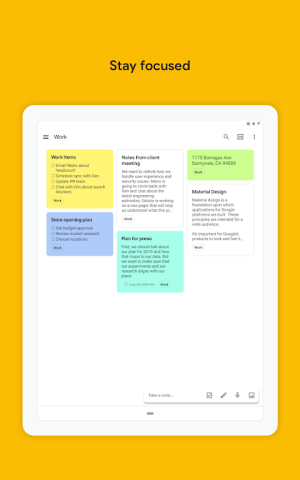 Google Keep - notes and lists 5.20.141.05.30 Screen 14