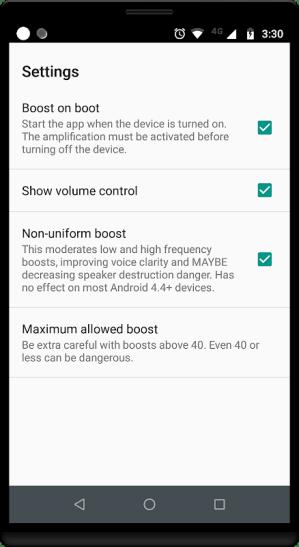 Android Amplificador de Volumen GOODEV Screen 3