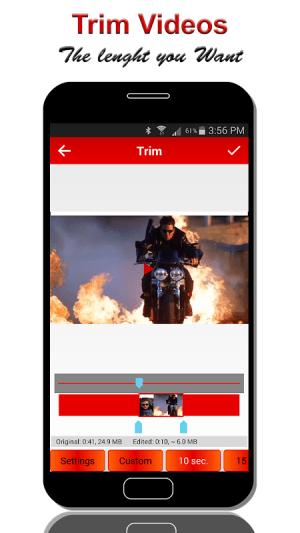 Video Crop & Trim 2.2.9 Screen 3